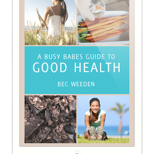 A Busy Babes Guide to Good Health Cover